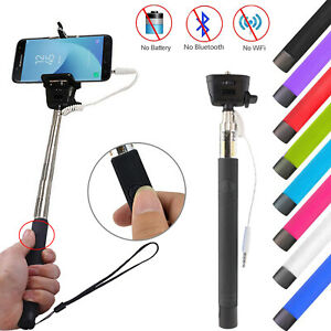 Extendable Telescopic Selfie Stick Monopod For Camera Mobile Phone Holder Stand