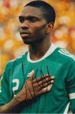 NIGERIA HAND SIGNED JOSEPH YOBO 6X4 PHOTO.