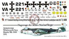 Peddinghaus 1/48 Hawker Sea Hawk Mk.100 / 101 Bundesmarine MFGrp 1 Markings 717