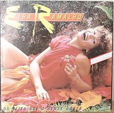 "ELBA RAMALHO: Do Jeito Que A Gente Gosta-1984LP BRAZILIAN IMPT ""QUEEN OF FORRO"""