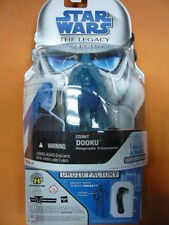Star Wars The Legacy Collection BD21 Count Dooku Holographic w/5D6-RA7's Arm