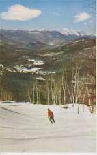 Two Ski Posters Cranmore Mt (Skiing Alberg Trail & Map) North Conway NH