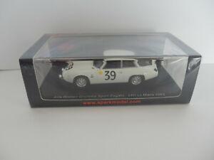 SPARK 1/43 S9050  ALFA-ROMEO Giulietta Sport Zagato  N°39  MANS 1962  Neuf Boite