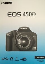 Canon EOS 450D Manual - Printed & Professionally Bound Size A5 - NEW 196 Pages