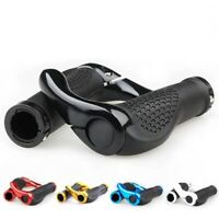 Mountain Bike Bicycle Handle Bar Grips Double Lock On MTB BMX Cycle + Ends New