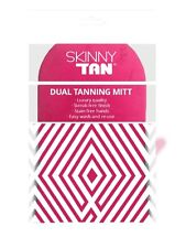 SKINNY Tan Pink Dual TANNING Luxury Application Mitt