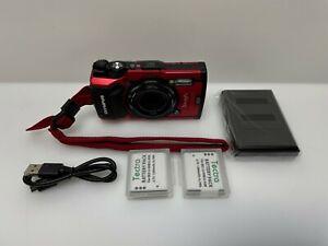 READ - Olympus - Tough TG-5 12.0-Megapixel Water-Resistant Digital Camera - Red