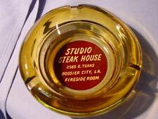 Vintage Studio Steak House Bossier City LA Fireside Room Ashtray