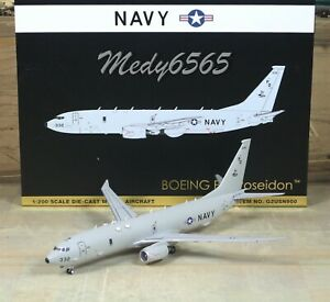 "Gemini Jets US Navy (169322) Boeing P-8A ""Discontinued"" 1/200"