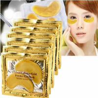 5/10 Pairs Gold Moisturizing Skin Care Gel Collagen EYE Hydrating Face Masks Set