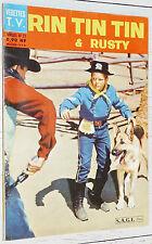 PETIT FORMAT VEDETTES T.V. RIN TIN TIN & RUSTY N°23 1962 EO SAGE