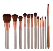 12Pcs Synthetic Fiber Makeup Brushes Set Cosmetics Brush Tool Kit Superior Soft