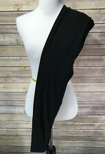 NEW PLUS Size Buttery Soft Solid Black Leggings TC 12-18 Great For Spring