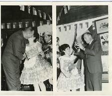 "1968 - 4 Photos - Santiago, Chili - 4 1/2""x7""-Dinner Party- Polla Dorado-People"