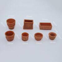 1:12 Miniature potted model dollhouse diy doll house decor accessor dmSFHWC