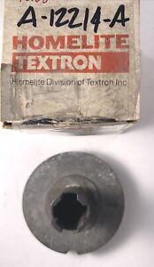 OEM Homelite Textron Pulley & Cup PN A-12214-A, NOS