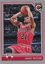 JIMMY BUTLER CHICAGO BULLS 2016-17 PANINI COMPLETE SILVER PARALEL CARD #27