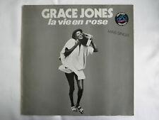 "GRACE JONES LA VIE EN ROSE / I NEED A MAN 12"" MAXI SINGLE IMPORT 1977"