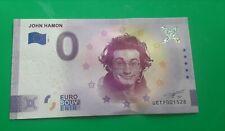 Billet touristique 0 euro schein 2020 - France - john hamon  UETF 001532