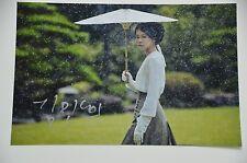 Kim Min-hee 김민희 SIGNED 20x30cm PHOTO AUTOGRAFO/Autograph in persona estremamente RAR