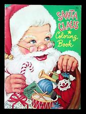 Unused - Santa Claus Coloring Book, Queen Holden 1950s