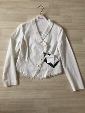 Valentino Blazer Red Valentino Cropped Jacket White NEW IT44 £500+