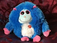 ty Blue Soft Toy That Speaks Used Excellent Condition