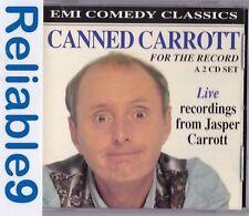 Jasper Carrott -  Canned Carrott for the record Live recordings Rare-1994 EMI UK