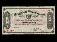 British North Borneo:P-29,1 Dollar,1940 * Mount Kinabalu * F-VF *