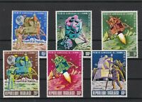 Republic Togolaise Space Astronauts Rockets Mint Never Hinged Stamps Ref 23715