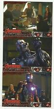 2015 UD AVENGERS:AGE OF ULTRON COMPLETE 90 CARD BASE SET!! COOL MOVIE STILLS!!