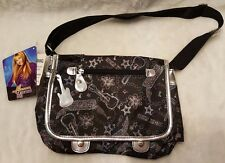 Hannah Montana NWT Multi Color Floral/Guitar/Words Shoulder Bag/Purse/Handbag