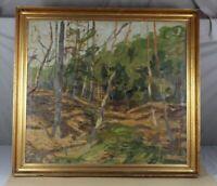 Schwenn Carl - Öl Gemälde auf Leinwand - signiert + datiert auf 1930 - Wald /O