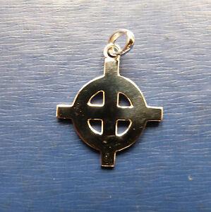 CROCE CELTICA  celtic cross Ciondolo in argento 925 -sterling silver