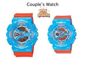 Couple's Watch *G-Shock GA110NC-2A & Baby-G BA110NC-2A COD PayPal #crzycod