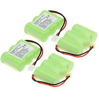 1/2/4pcs 400mAh 2/3AA 3.6V Phone Battery For Vtech BT17333 BT163345 CPB9607