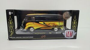 M2 Machines 1:24 Volkswagen - 1960 VW Delivery Van The Crazy Painter Kelly CHASE