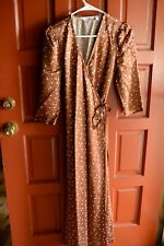& Other Stories rust brown maxi wrap dress/ US size 4/ Euro size 36