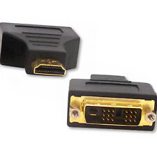 DVI Male to HDMI Male Plug Adapter GOLD HDMI to DVI-D Adaptor Coupler Converter