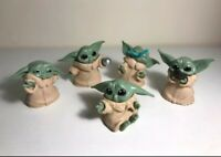 BABY YODA MANDALORIAN Lot 5 Pezzi/Pieces Action Figures Modellino Giocattolo Toy