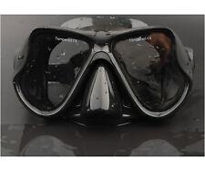 Stylish Piano Black Scuba Diving Goggles