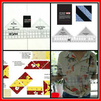 Quilting Essentials Ruler Template Sewing Machine Free Motion Patchwork Tool New
