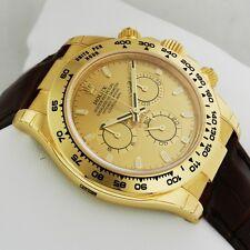Rolex Cosmograph Daytona Yellow Gold 116518 Champagne Dial Retail: $25,150