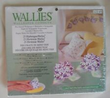 Wallies Wet & Stick Removable Vinyl Wallpaper Cutouts - Hydrangeas 12148