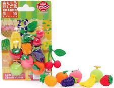 Japanese Iwako Take Apart Puzzle Fruit Eraser Set #1249 S-3448