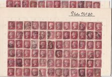 SG 43 Penny red plate 80 full reconstruction (240 stamps)