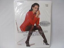 European Luxury Collection Creme Large Velvet Opaque Control Top (3 pair pack!)