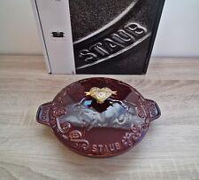 STAUB Tomorrowland Gusseisen Auflaufform Servierplatte 20 cm, 0,75 l Grenadine