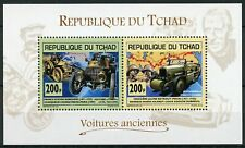 Chad 2013 MNH Old Cars Citroen Scipione Borghese 2v M/S Motoring Stamps
