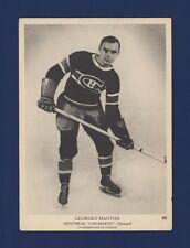 1939-40 O-Pee-Chee V301-1 George Mantha #26 Montreal Canadiens (5 X 7) Card !
